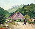 Japanese Scene by Helen Wells Seymour (Am.)
