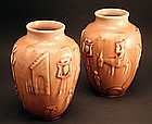 Pair of Rookwood Vases