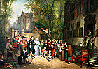 The Wedding Party by Constant Eechault (Bel.)