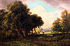 Landscape by Gordon Coutts (American, 1880-1937)