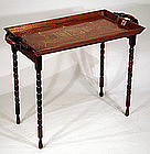 Anglo-Indian Tray on Stand
