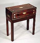 Antique English Rosewood Lap Desk