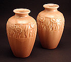 Small pair of Rookwood Vases