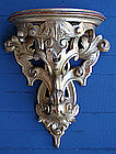 Continental Gilt Wall Brackets
