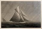 Yacht Race by Frederick Seeth (American, 1845-1929)