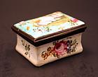 19th-century French Imitation of English Enamel Box