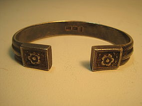 Early 20th C. Chinese Old Silver Bangle
