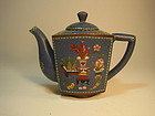 A Beautiful 19th C. Chinese Cloisonne Teapot