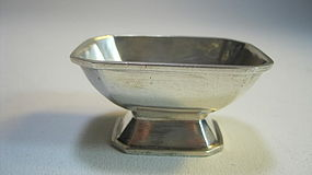 Early 20th C. Chinese Export Silver  Wine Cup Marked