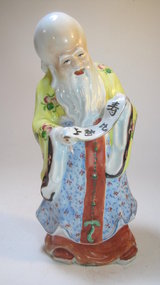 Early 20th C. Chinese Porcelain Famille Rose Buddha