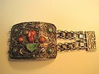 Beautiful Antique Chinese Export Silver Bracelet Marked
