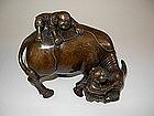 A fine 19th/20th Century Chinese Bronze Statue