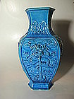 A Chinese Turquiose Dragon Vase