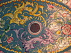 Early 20th C. Chinese Enamel Flower Copper plate