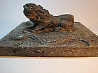 A Beautiful Early 18th C. Qing Dynasty Stone Carving