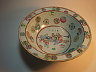 Mid 19th C. Chinese Famille Rose Porcelain Bowl