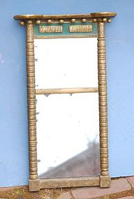 Federal Gilt and Painted Mirror, Circa 1810