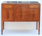 Federal Mahogany Marble Top Sideboard, Ca. 1810