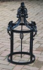 Wrought Iron Lantern, 20thC