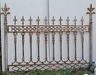 American Cast Iron Fence, Circa 1875