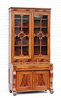 Late Federal Classical Mahogany Bookcase, Ca. 1830