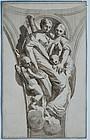 Engraving:  After Pietro Testa, Italian 17th C.