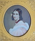 Portrait Minature of a Woman, circa 1840