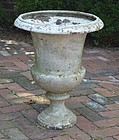 Cast Iron Garden Urn, early 20th C.