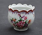 Chinese Export Porcelain Egg Cup, mid 18th C.
