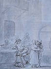 Dutch School Drawing, late 18th C.