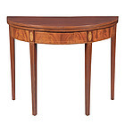 Federal Inlaid Mahogany Card Table, NY, circa 1800