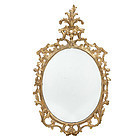 George III Carved and Giltwood Mirror, circa 1765