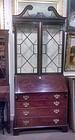 George III Mahogany Secretary Bookcase, Ca. 1770
