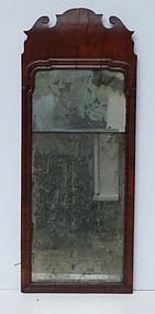 George I Walnut Mirror, circa 1725-35