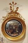 George III Gilded Convex Mirror ca. 1810