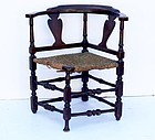 American Maple Corner Chair, New England, circa 1760