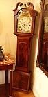 William IV Mahogany Longcase Clock John Baxter, Methven
