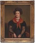Robert Street , American 1796-1865. Portrait of Rebecca Sterns