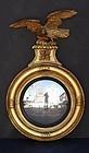 George III Giltwood Convex Mirror, circa 1810-1820