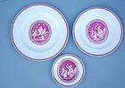 48-Piece Wedgwood Porcelain Plates,Cipriani, 20th C.