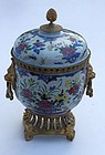 Chinese Export Porcelain Famille Rose Potpourri, 18th C.