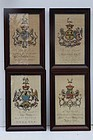 18th Century English Heraldic Prints, Joseph Edmondson
