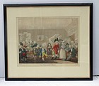 Charles Knight (1756-1811) Stipple Etching of 'The Smoaking Club'