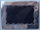 English Sterling Silver Picture Frame, circa 1912