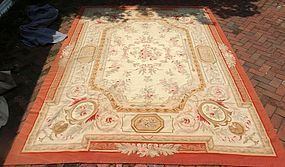 French Aubusson Carpet, circa 1900