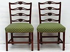 Pair of George III Carved Chairs, circa 1780
