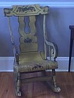 American Painted Federal Rocking Chair c. 1825
