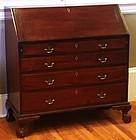 American Chippendale Mahogany Desk Ca. 1790