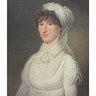 British School Portrait of a Woman, Circa 1800-1810