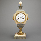 French Marble and Bronze  Bracket Clock, 19th C.